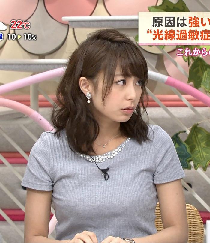 宇垣アナ(26)のアイコラヌード&Gカップ胸チラエロ画像118枚・104枚目の画像