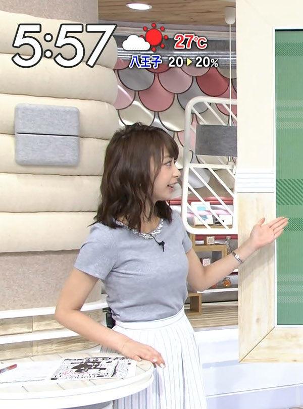 宇垣アナ(26)のアイコラヌード&Gカップ胸チラエロ画像118枚・105枚目の画像