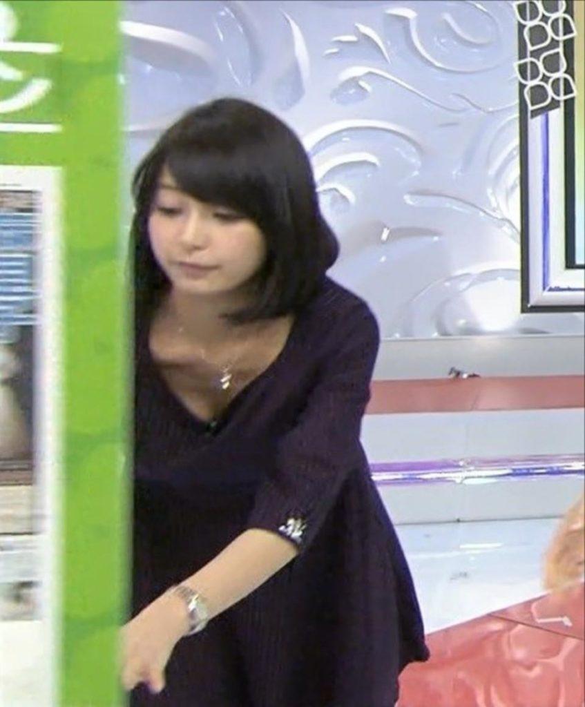 宇垣アナ(26)のアイコラヌード&Gカップ胸チラエロ画像118枚・110枚目の画像