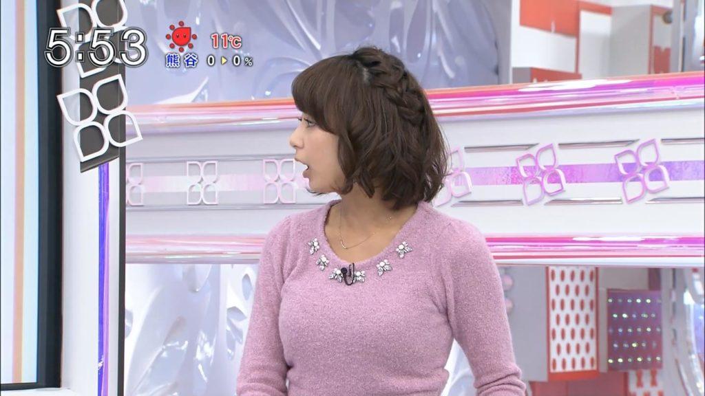 宇垣アナ(26)のアイコラヌード&Gカップ胸チラエロ画像118枚・114枚目の画像
