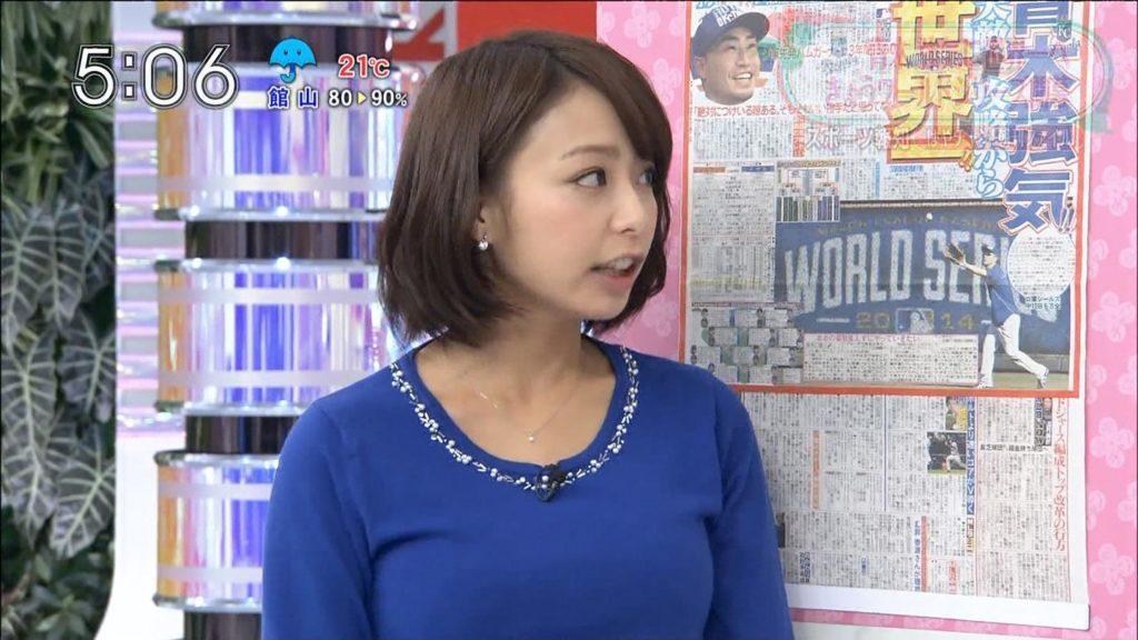 宇垣アナ(26)のアイコラヌード&Gカップ胸チラエロ画像118枚・116枚目の画像