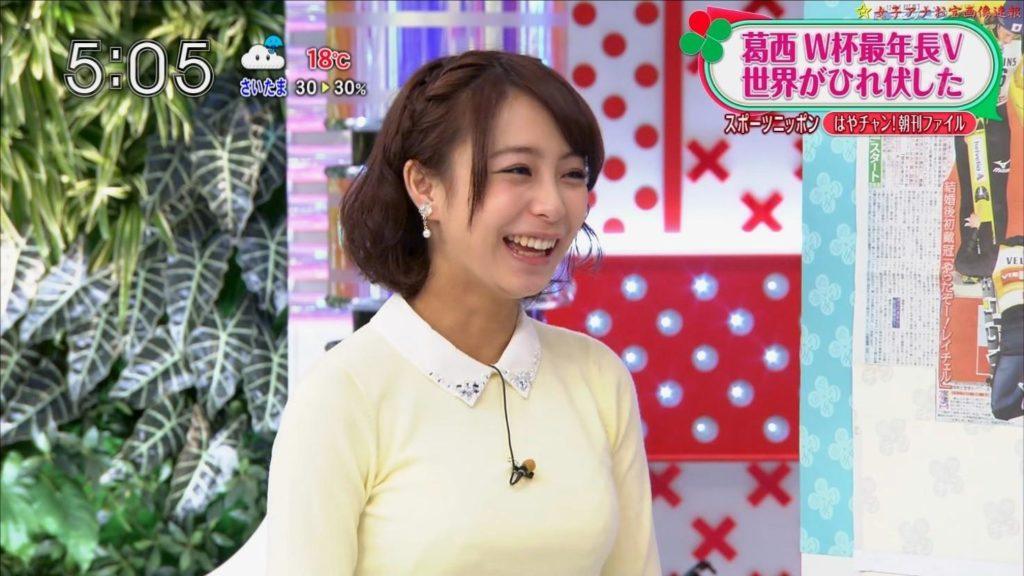 宇垣アナ(26)のアイコラヌード&Gカップ胸チラエロ画像118枚・118枚目の画像
