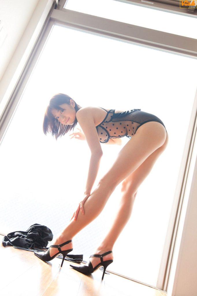 細身美足という超最高の下半身をしたモデルのえろ写真32選