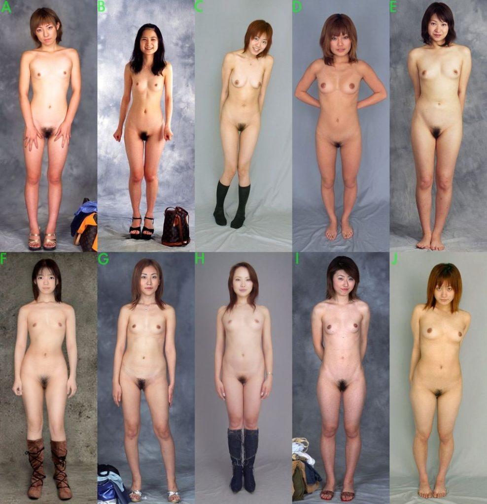 十人十色☆シロウトぬーどを見比べられるカタログ的なえろ写真24枚