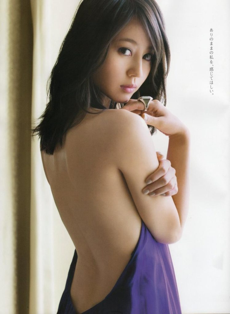 (永久保存版)芸能界引退の堀北真希のぬーど&アイコラえろ写真100枚
