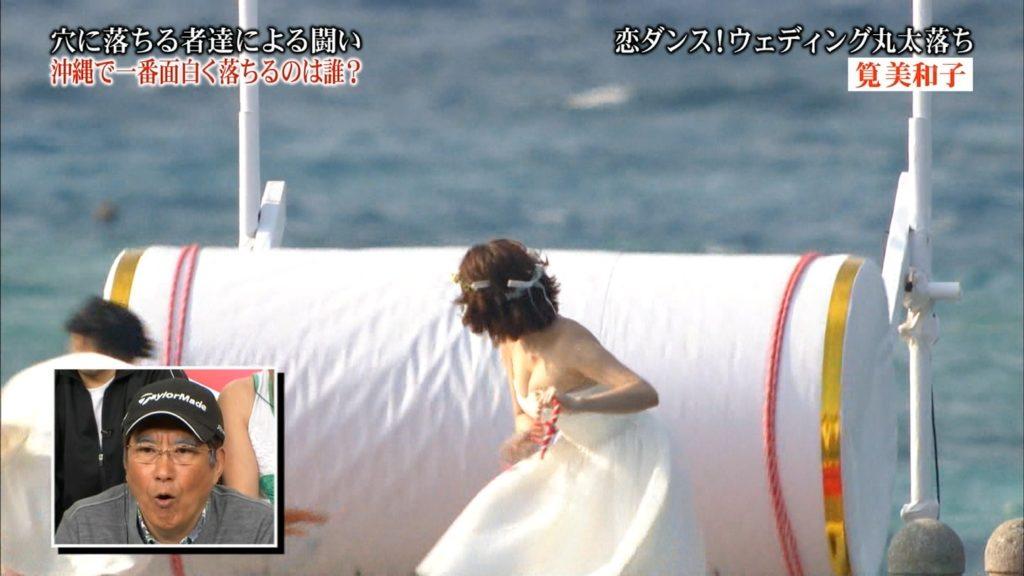 永久保存版!筧美和子の巨乳おっぱいポロリ放送事故エロ画像100枚・3枚目の画像