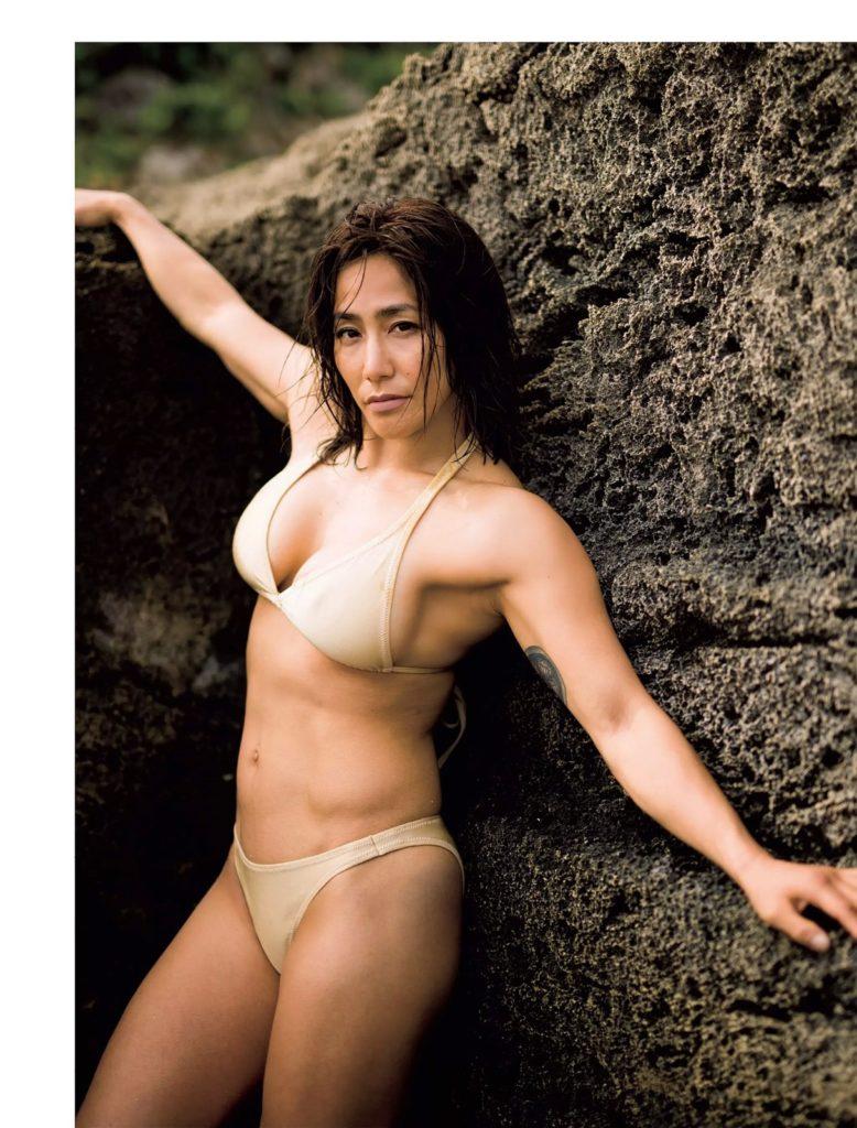 山本美憂(42)ヌード写真集エロ画像35枚!BBA・女子レスリング好き必見…・4枚目の画像