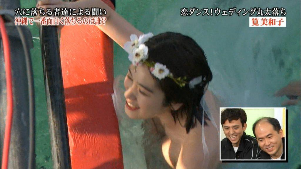 永久保存版!筧美和子の巨乳おっぱいポロリ放送事故エロ画像100枚・7枚目の画像