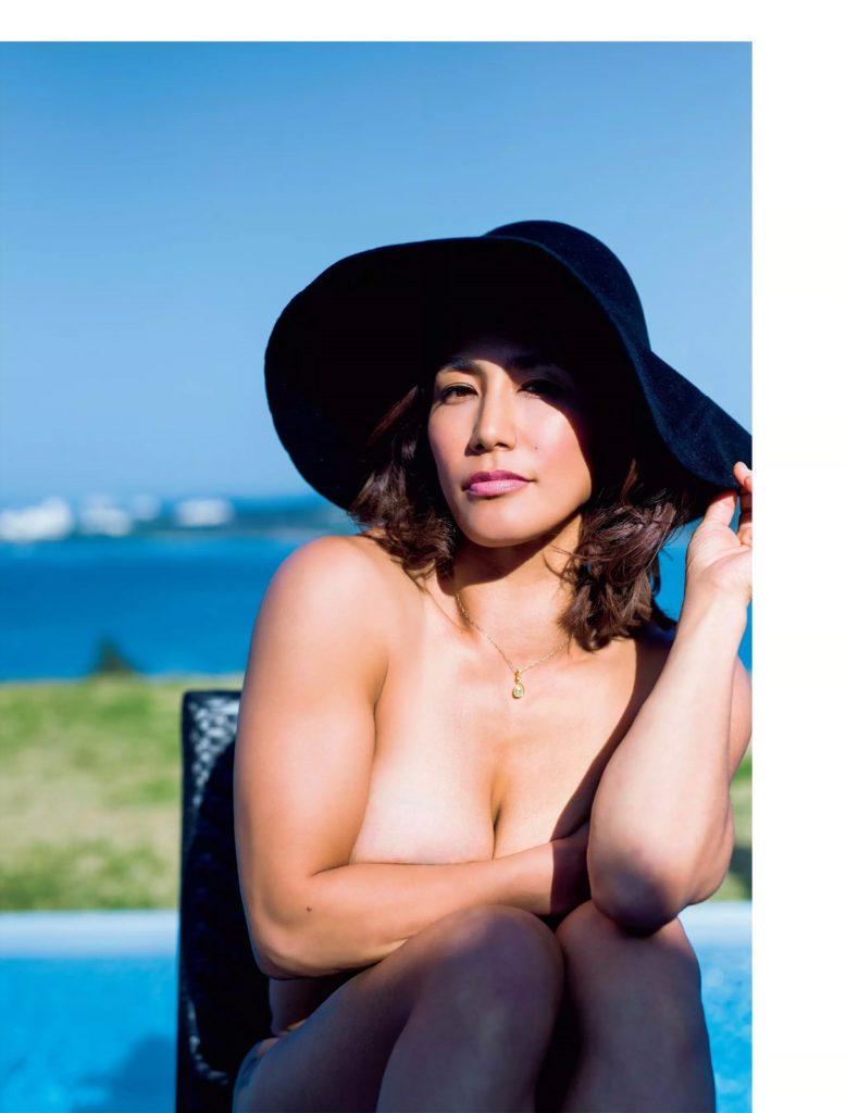 山本美憂(42)ヌード写真集エロ画像35枚!BBA・女子レスリング好き必見…・8枚目の画像