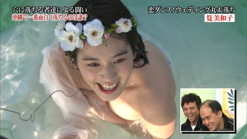 永久保存版!筧美和子の巨乳おっぱいポロリ放送事故エロ画像100枚・14枚目の画像
