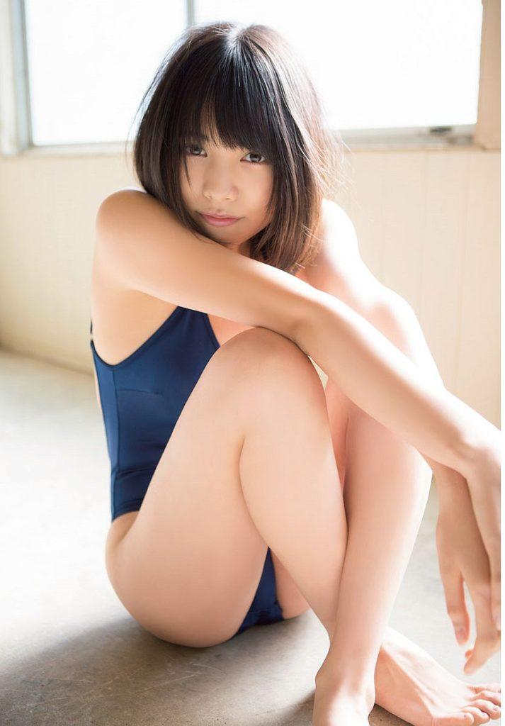 松永有紗の競泳水着