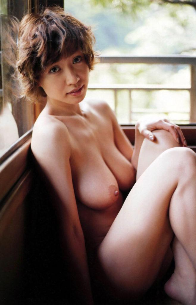 中出しAVデビュー!細川ふみえ(45)のヌードエロ画像45枚・17枚目の画像