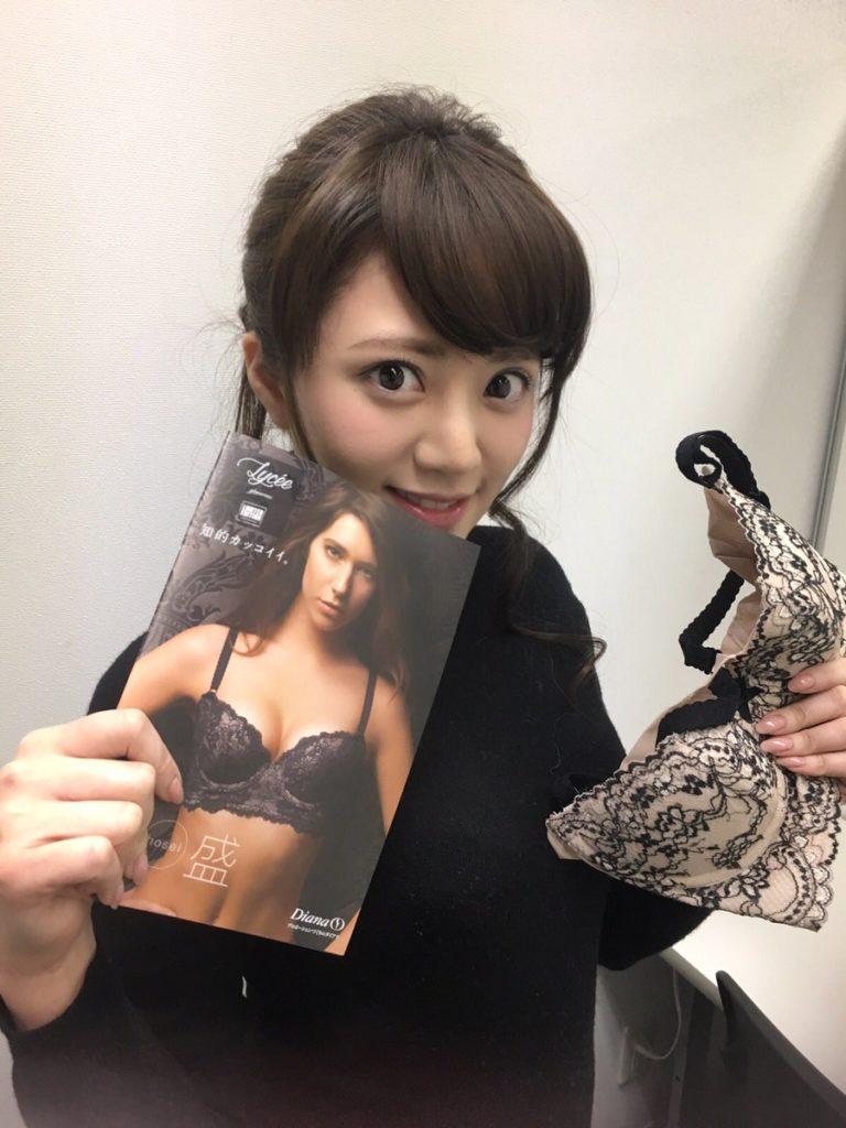 谷亜沙子アナ(23)のFカップ谷間のグラビアエロ画像22枚・27枚目の画像
