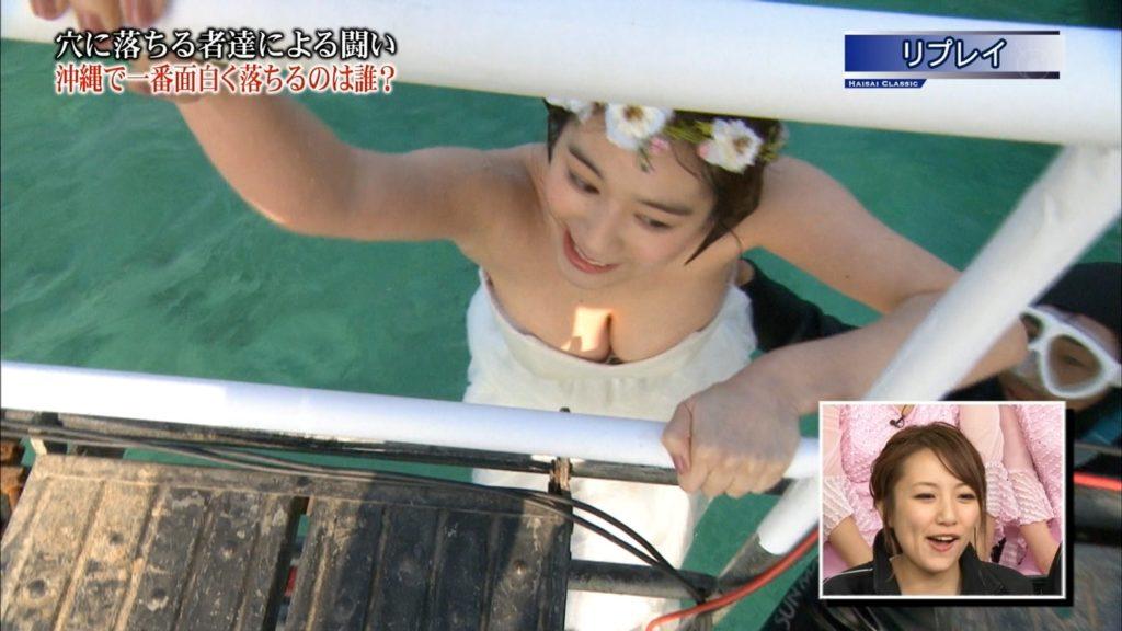永久保存版!筧美和子の巨乳おっぱいポロリ放送事故エロ画像100枚・26枚目の画像