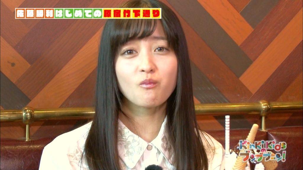 橋本環奈の疑似フェラ食レポ&最新谷間エロ画像45枚・30枚目の画像