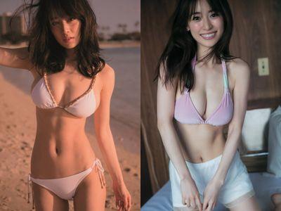 【エロ画像】モデル泉里香(28)のミズ着写真集&最新グラビアえろ画像140枚