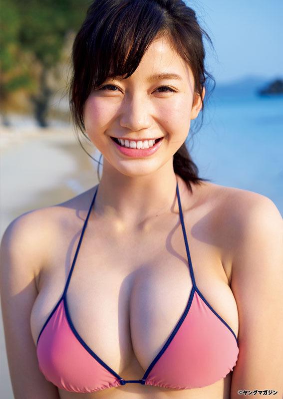 小倉優香(19)Gカップ8頭身「リアル峰不二子ボディ」のグラビアエロ画像165枚・62枚目の画像