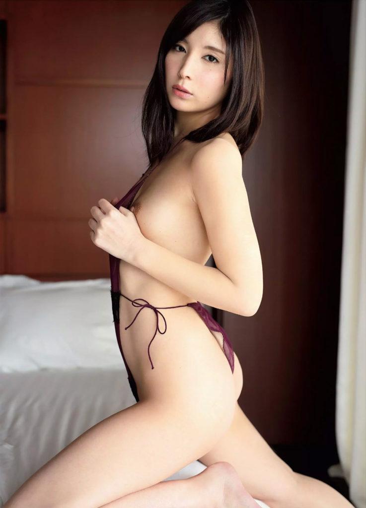 AVデビューの仲村みう(26)ヌードエロ画像113枚・3枚目の画像