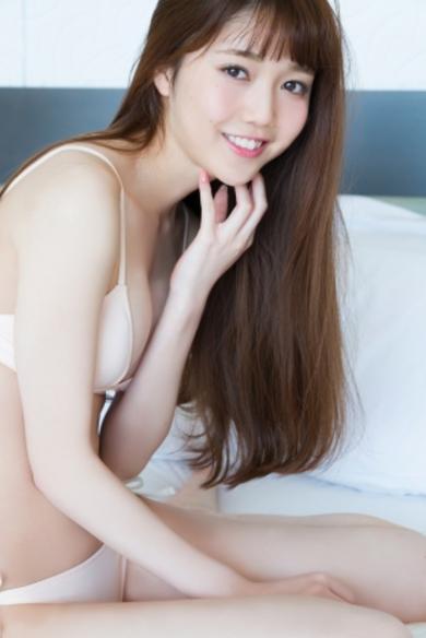 松川菜々花(19)初水着エロ画像21枚!ノンノ専属モデルの即ハボボディ!・4枚目の画像