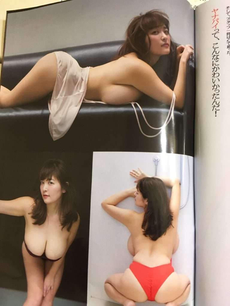 柳瀬早紀(28)100cm・Iカップのやなパイ最新グラビアエロ画像131枚・39枚目の画像