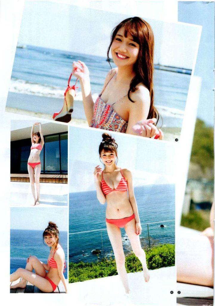 松川菜々花(19)初水着エロ画像21枚!ノンノ専属モデルの即ハボボディ!・9枚目の画像
