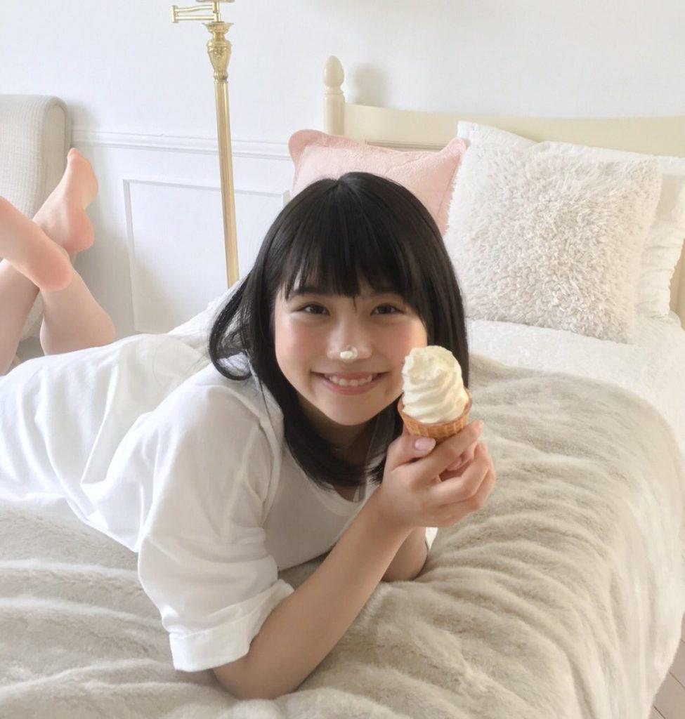 SKE48小畑優奈(15)の水着グラビアエロ画像34枚・9枚目の画像