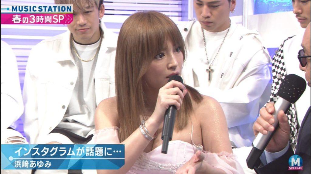 浜崎あゆみのアイコラ&最新胸チラキャプ画像88枚・32枚目の画像