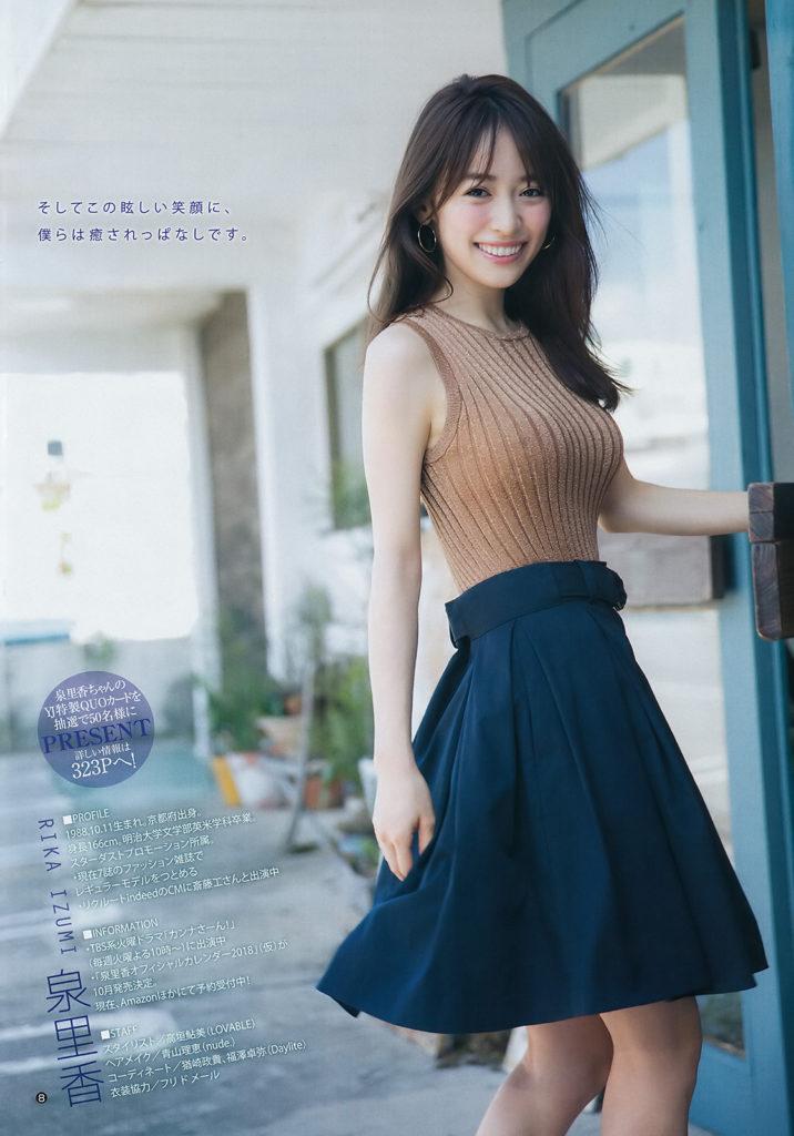モデル泉里香(28)の水着写真集&最新グラビアエロ画像140枚・12枚目の画像