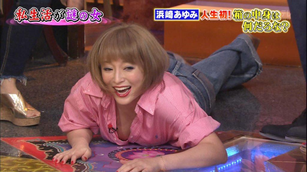浜崎あゆみのアイコラ&最新胸チラキャプ画像88枚・18枚目の画像