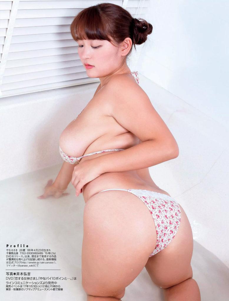 柳瀬早紀(28)100cm・Iカップのやなパイ最新グラビアエロ画像131枚・18枚目の画像