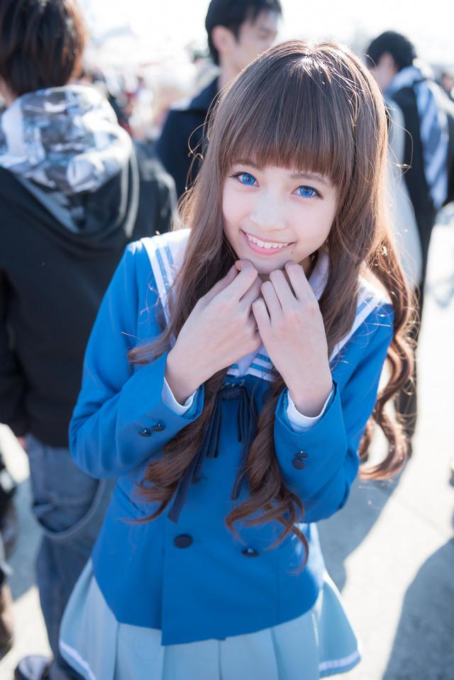 レイヤー夢咲はゆエロ画像60枚!正統派JKコスが似合う美少女!・37枚目の画像