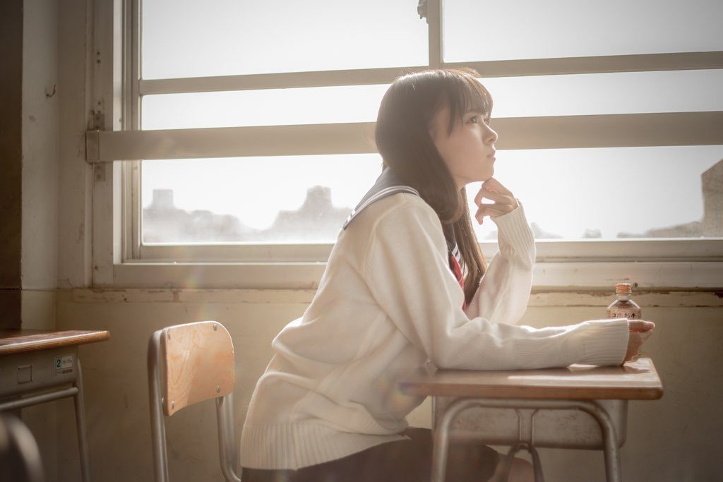 レイヤー夢咲はゆエロ画像60枚!正統派JKコスが似合う美少女!・47枚目の画像