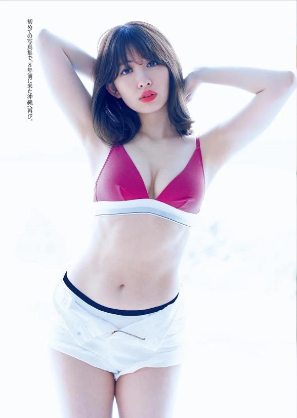 小嶋陽菜のラストグラビアエロ画像5
