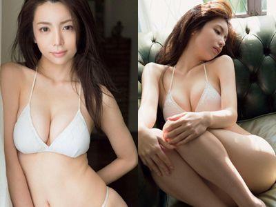 【エロ画像】(逸材)仲村美海(25)の新人初グラビアえろ画像