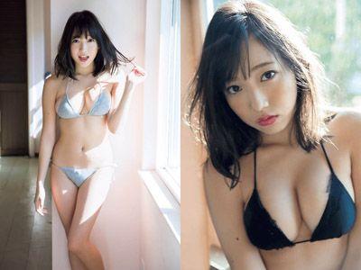 夢アド京佳(18)の最新Fカップグラビアエロ画像80枚・1枚目の画像