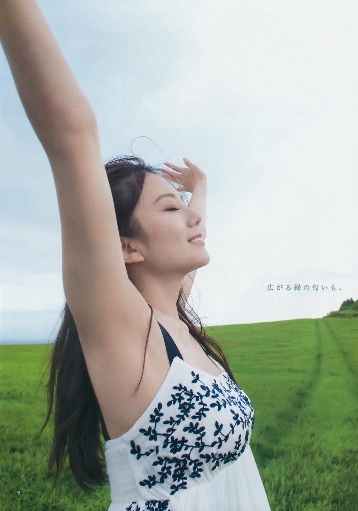 伊東紗冶子(23)Gカップキャスターの水着グラビア画像60枚・6枚目の画像