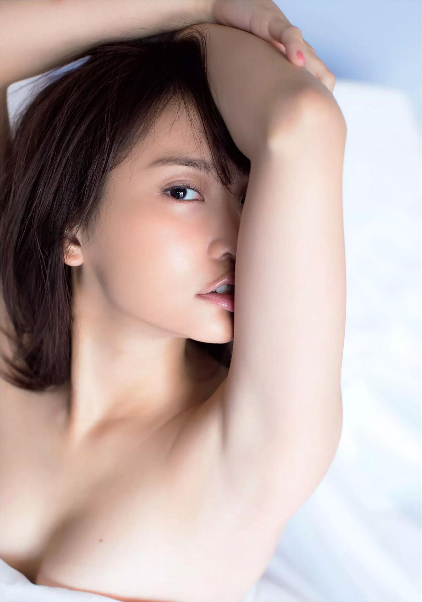 永尾まりや(23)の横乳ヌードグラビアエロ画像160枚・7枚目の画像