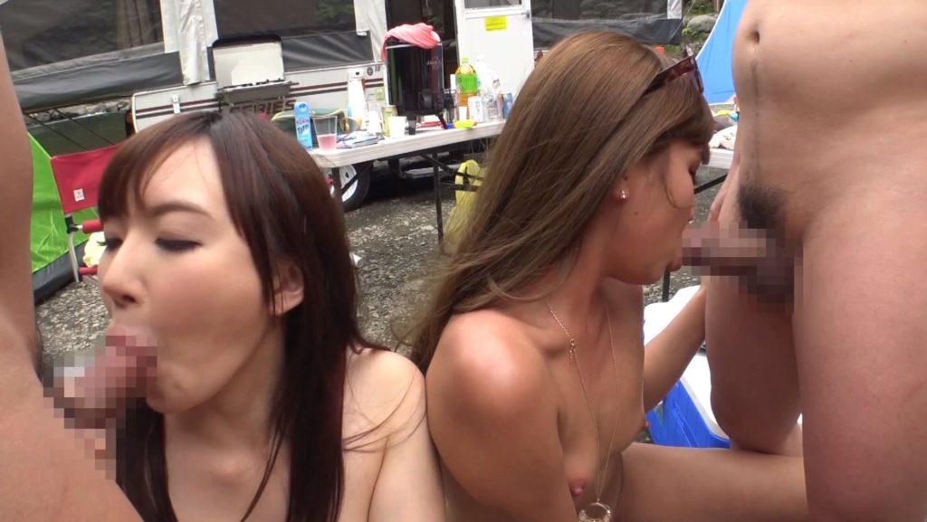 BBQ会場での乱交セックスエロ画像32枚・7枚目の画像