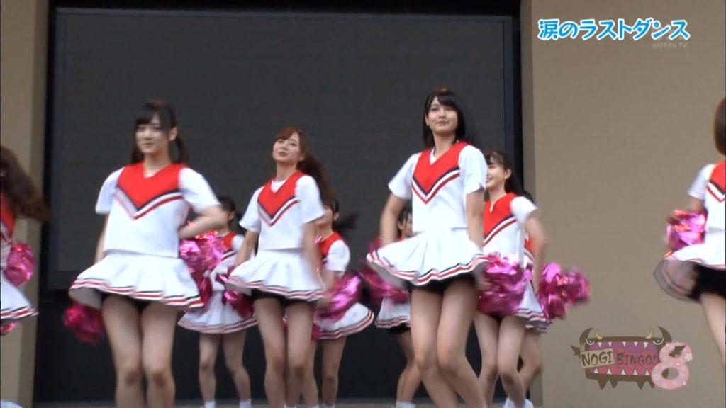 乃木坂3期生のチアガール姿のパンツ丸見ええろ写真33枚