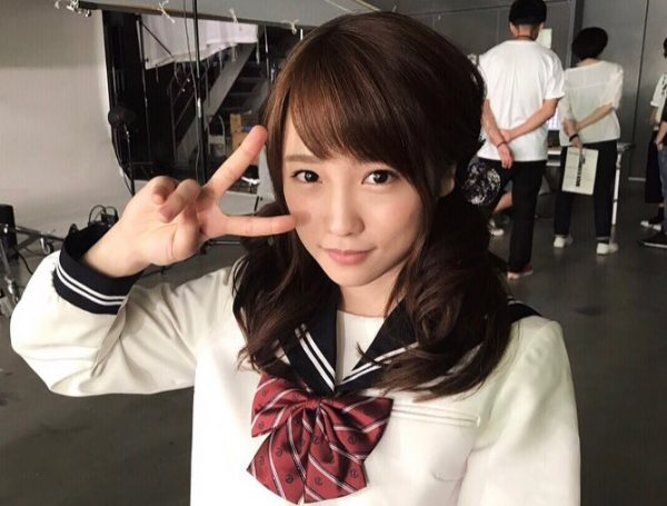 元AKB48川栄李奈(22)の現役感あるセーラー服コスプレエロ画像80枚 表紙