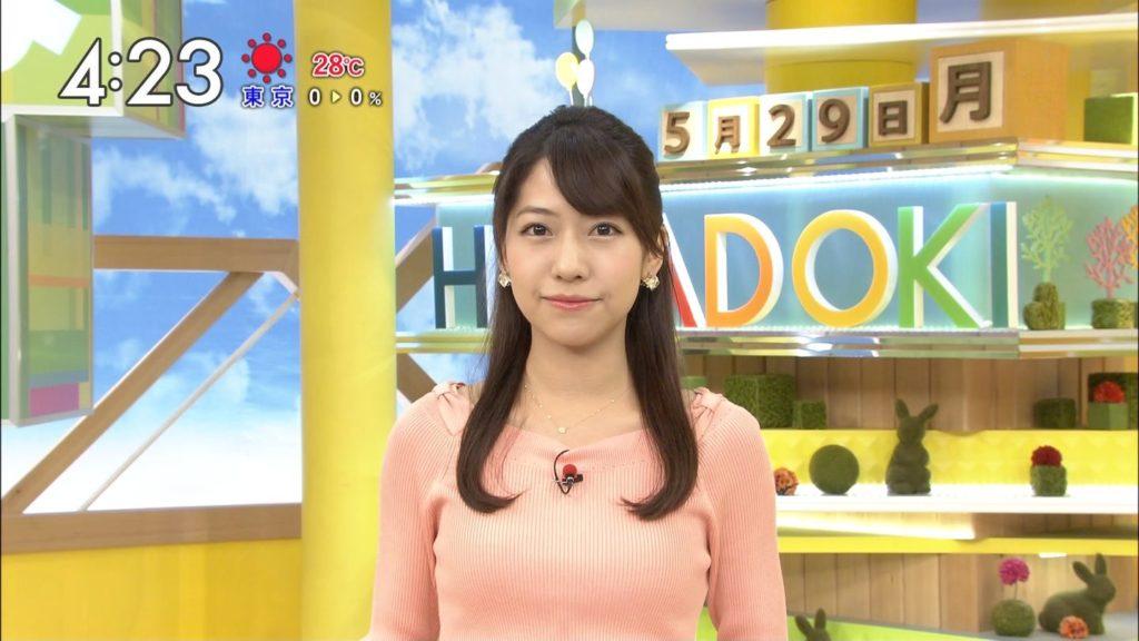 はやドキ☆・小野寺結衣キャスター(25)の着衣美巨乳えろ写真30枚