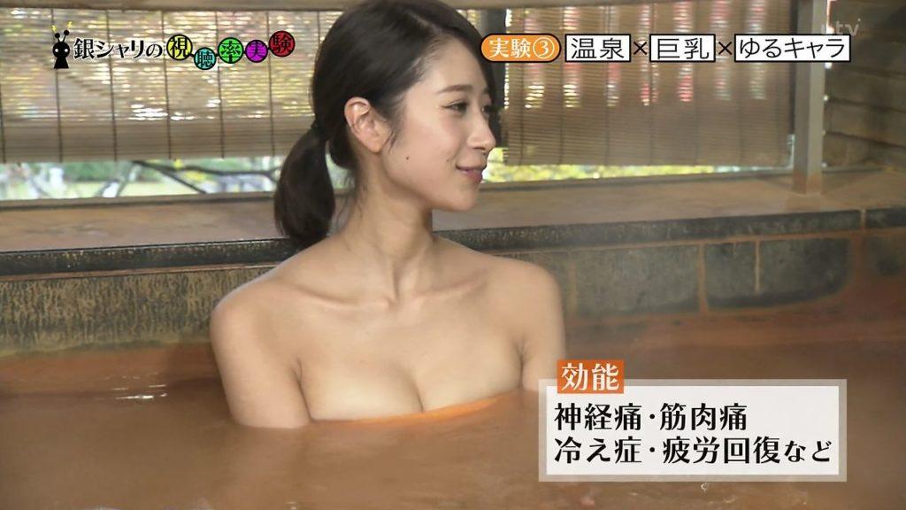 ハプニング不可避のTV入浴シーンのエロ画像35枚・3枚目の画像