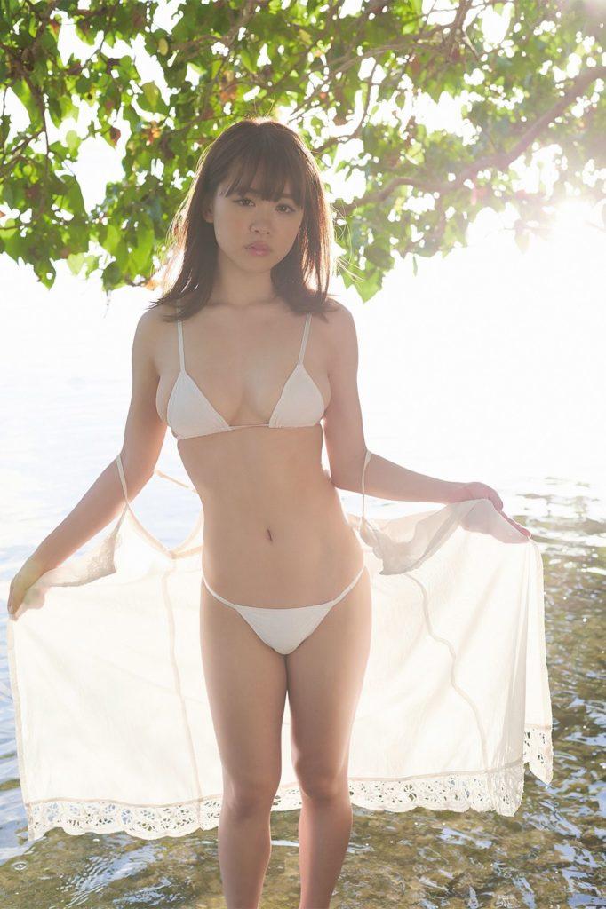 元HKT48・菅本裕子(22)のFカップが抜けるグラビアエロ画像30枚・8枚目の画像