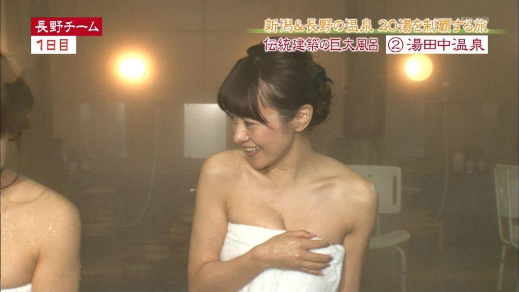 ハプニング不可避のTV入浴シーンのエロ画像35枚・15枚目の画像