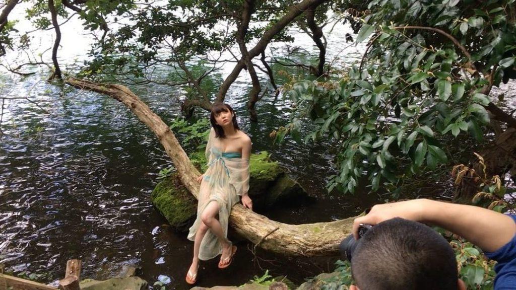 女優・山谷花純(20)のスレンダー水着グラビアエロ画像40枚・19枚目の画像