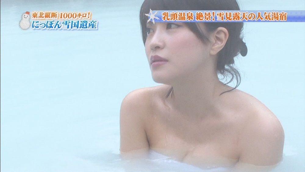 ハプニング不可避のTV入浴シーンのエロ画像35枚・19枚目の画像