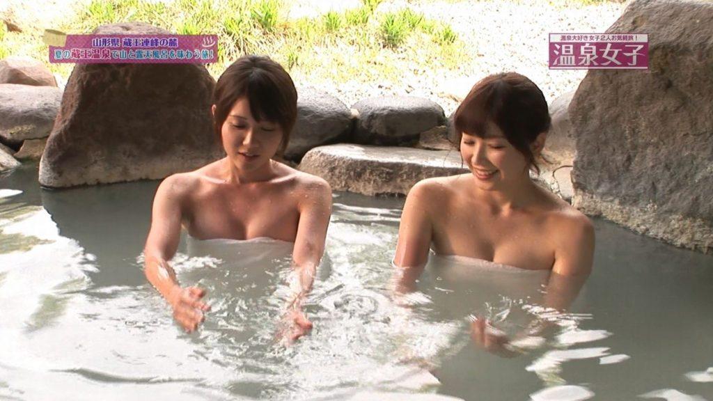 ハプニング不可避のTV入浴シーンのエロ画像35枚・34枚目の画像