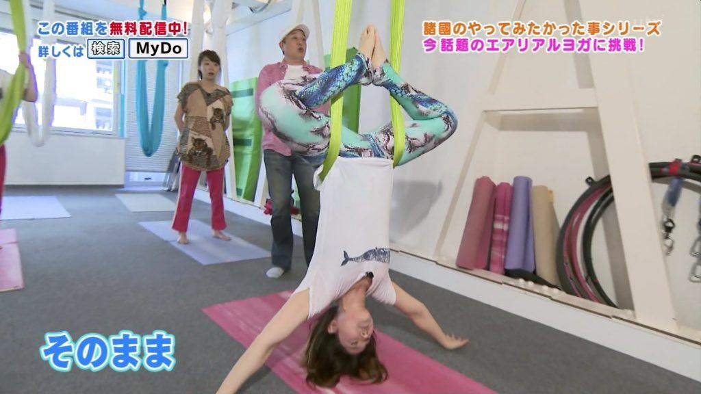 諸國沙代子アナ(25)が種付け挿入希望のマングリ返し!ヨガのエロキャプ画像30枚・3枚目の画像