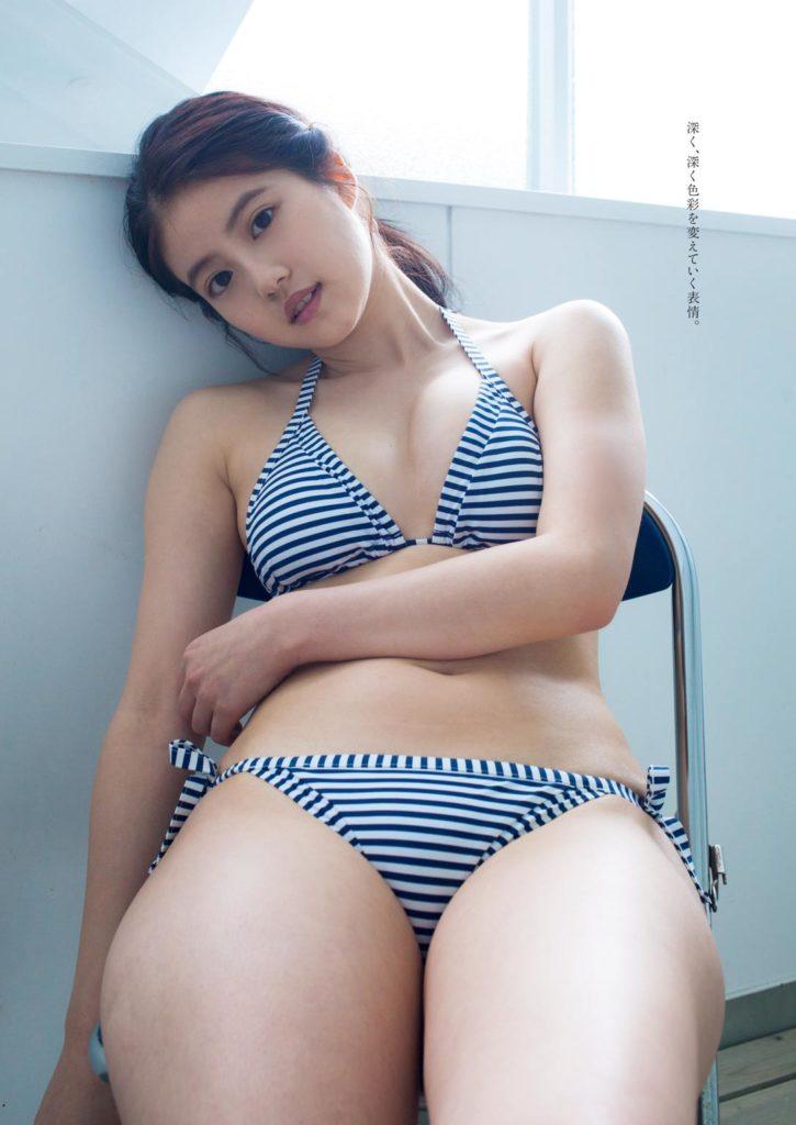今田美桜(20)の水着グラビア&始球式パンチラエロ画像73枚・9枚目の画像