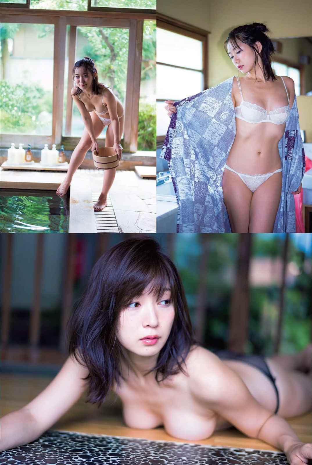 階戸瑠李(28)ヌード間近の透け乳首解禁グラビア画像100枚・7枚目の画像